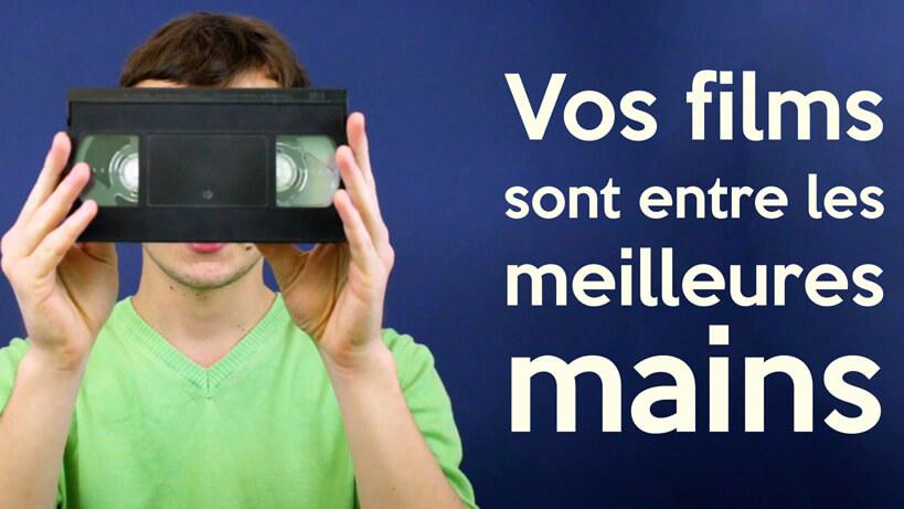 Studio Real numérise vos cassettes vidéos VHS à Lyon